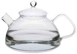 5 Cup German Glass Stove Top Kettle